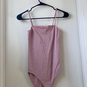 Topshop Pink Bodysuit